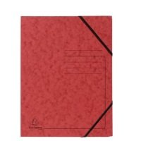 Bild Eckspanner A4 Colorspan - intensiv rot, Karton 355 g/qm