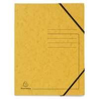 Bild Eckspanner A4 Colorspan - intensiv gelb, Karton 355 g/qm