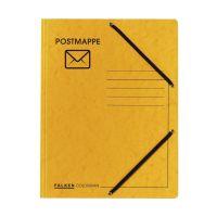 Bild Jurismappe Postmappe - Aufdruck & Symbol, Colorspankarton 335 g/qm, gelb