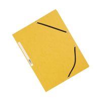Bild Eckspanner - Karton A4 mit Gummizug gelb