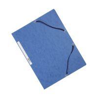 Bild Eckspanner - Karton A4 mit Gummizug blau