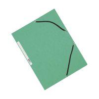 Bild Eckspanner - Karton A4 mit Gummizug grün