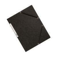 Bild Eckspanner - Karton A4 mit Gummizug schwarz