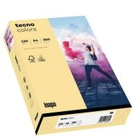 Bild Multifunktionspapier tecno® colors - A4, 120 g/qm, hellchamois, 250 Blatt