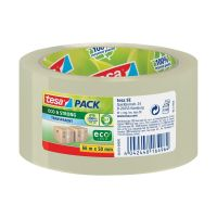 Bild Verpackungsklebeband tesapack® Eco & Strong, PP, 66 m x 50 mm, transparent