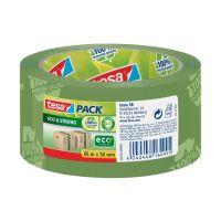 Bild Verpackungsklebeband tesapack® Eco & Strong, PP, 66 m x 50 mm, grün