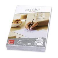 Bild Briefumschlag Prestige - C7, 25 Stück, hochweiß, gummiert