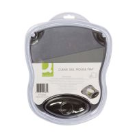 Bild Mousepad mit Gelauflage - grau-transparent