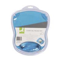 Bild Mousepad mit Gelauflage - blau-transparent
