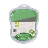 Bild Mousepad mit Gelauflage - grün-transparent