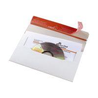 Bild CD-Brief DIN lang aus stabiler Vollpappe ohne Fenster, ohne Abheftlasche