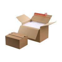 Bild Blitzbodenkarton - 238x170x60-130 mm, sk, braun, höhenvariabel