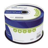 Bild DVD-R - 4.7GB/120Min, 16-fach/Spindel, Packung mit 50 Stück