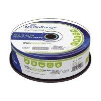 Bild DVD-R - 4.7GB/120Min, 16-fach/Spindel, bedruckbar, Packung mit 25 Stück