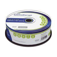 Bild DVD-R - 4.7GB/120Min, 16-fach/Spindel, Packung mit 25 Stück