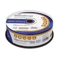 Bild DVD+R - 4.7GB/120Min, 16-fach/Spindel, bedruckbar, Packung mit 25 Stück