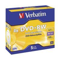 Bild DVD+RW Matt Silver 4x