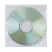 Bild CD/DVD-Hüllen - Ungelocht, transparent, Packung mit 50 Stück