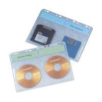 Bild CD/DVD-Hüllen - zur Ablage im Ordner/Ringbuch, transparent, 10 Stück