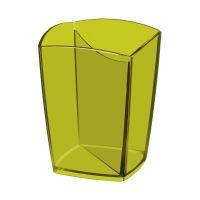 Bild Stifteköcher Happy - bambusgrün, 74 x 74 x 95 mm