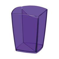 Bild Stifteköcher Happy - violett, 74 x 74 x 95 mm
