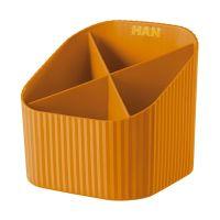 Bild Schreibköcher X-LOOP - 4 Fächer, orange