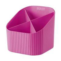 Bild Schreibköcher X-LOOP - 4 Fächer, pink
