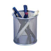 Bild Schreibköcher Metalldraht - silber