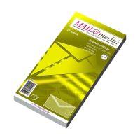 Bild Briefumschläge DIN lang (220x110 mm), mit Fenster, gummiert, 72 g/qm, 25 Stück