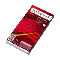 Bild Briefumschläge DIN lang (220x110 mm), ohne Fenster, haftklebend, 80 g/qm, 25 Stück