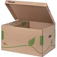 Bild Archiv Container ECO, mit Deckel, Karton, naturbraun