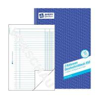 Bild 450 Kolonnen-Durchschreibbuch, DIN A4, 2 Kolonnen, 2 x 50 Blatt, weiß