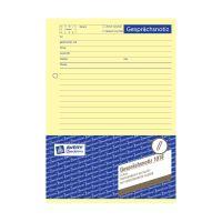 Bild 1018 Gesprächsnotiz, DIN A5, vorgelocht, 50 Blatt, gelb
