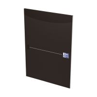 Bild Office Briefblock - A4, liniert, schwarz, kopfgeleimt