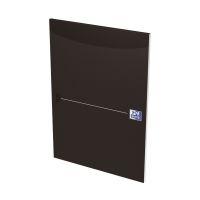 Bild Office Briefblock - A4, kariert, schwarz, kopfgeleimt