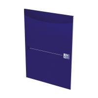 Bild Office Briefblock - A4, blanko, blau, kopfgeleimt