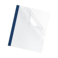 Bild Thermobindemappe Prestige - 3 mm, blau, 100 Stück
