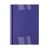 Bild Thermomappe Lederoptik - A4, 4 mm/40 Blatt, blau, 100 Stück