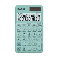 Bild Taschenrechner SL-310 - Solar-/Batteriebetrieb, 10stellig, LC-Display, hellgrün