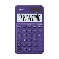 Bild Taschenrechner SL-310 - Solar-/Batteriebetrieb, 10stellig, LC-Display, lila