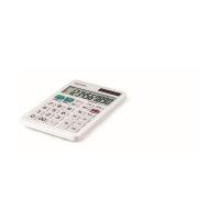 Bild Tischrechner EL-377W - 10-stellig, Batterie/Solar, 71 x 10 x 120 mm, weiß