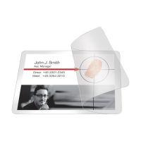 Bild Kaltlaminierhülle, Visitenkarten, 200/100 mym, 66 x 100mm, 10 Stück