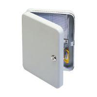 Bild Schlüsselschrank Pearl - grey, 20 Haken, Zylinderschloss