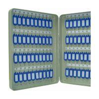 Bild Schlüsselschrank Pearl grey - 80 Haken, Zylinderschloss