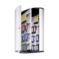 Bild Schlüsselkasten KEY BOX - 48 Haken, mit Zylinderschloss und Panel, grau