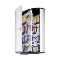 Bild Schlüsselkasten KEY BOX - 72 Haken, mit Zylinderschloss und Panel, grau