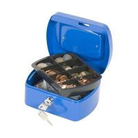 Bild Geldkassette - 155x120x75mm - blau