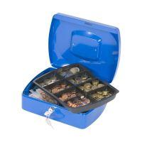 Bild Geldkassette - 255x200x85mm - blau