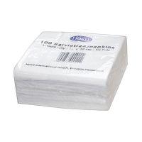 Bild Serviette - 33x33cm, weiß, 100 Stück