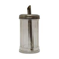 Bild Zuckerdosierer - Glas mit Metalldeckel